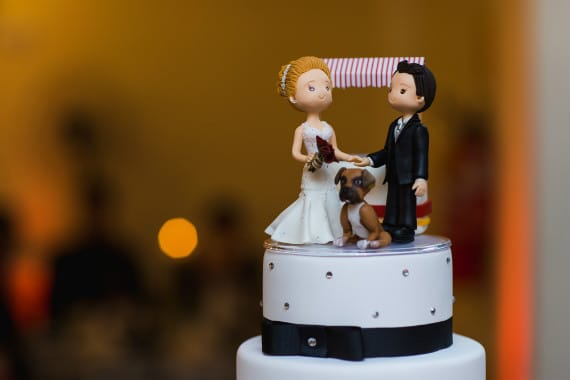 איך לשלב את הכלב בחתונה